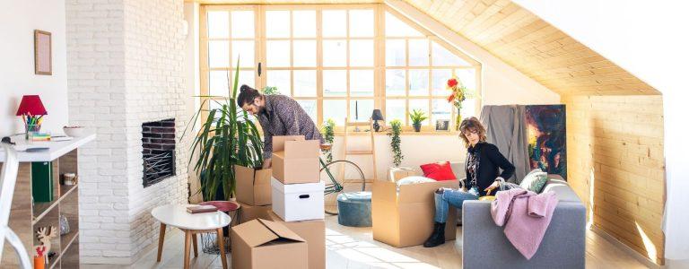 imagen de vivienda donde se ha realizado una segregacion