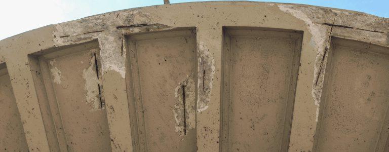 imagen forjado afectado por corrosión